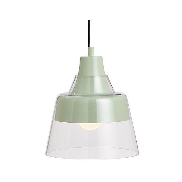 Webster Mint Pendant Light
