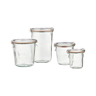 Weck Tall Canning Jars