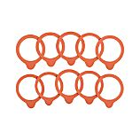 Weck Small Rubber Replacement Seals Sets of Ten