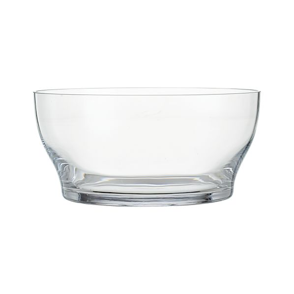 "Welcome 9.5"" Glass Bowl"