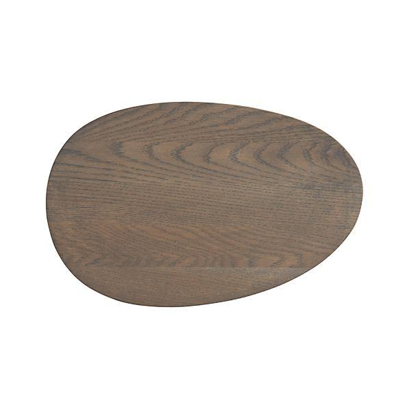 Welcome Oak Platter