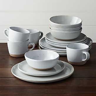 Welcome White 16-Piece Dinnerware Set