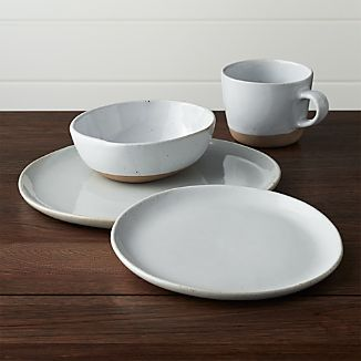 Welcome White Dinnerware