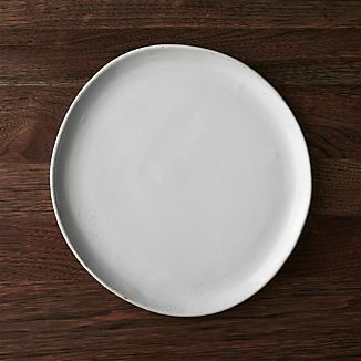 Welcome White Dinner Plate