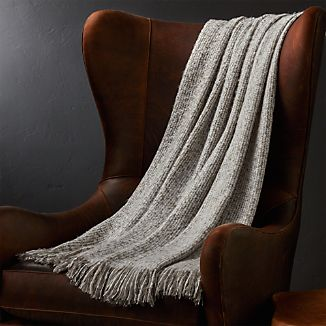 Weldon Taupe Throw