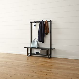 Welkom Hall Tree Bench with Coat Rack