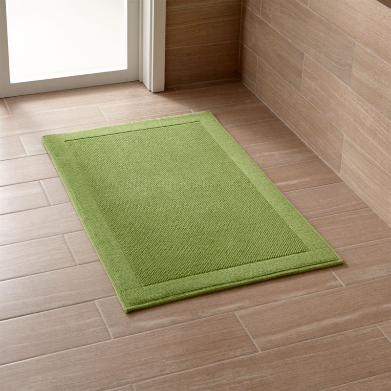 Westport Green Bath Rug