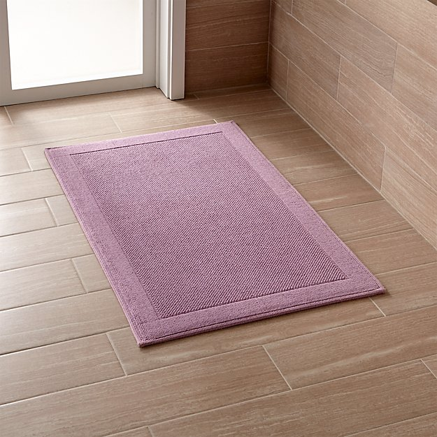 Westport Purple Bath Rug