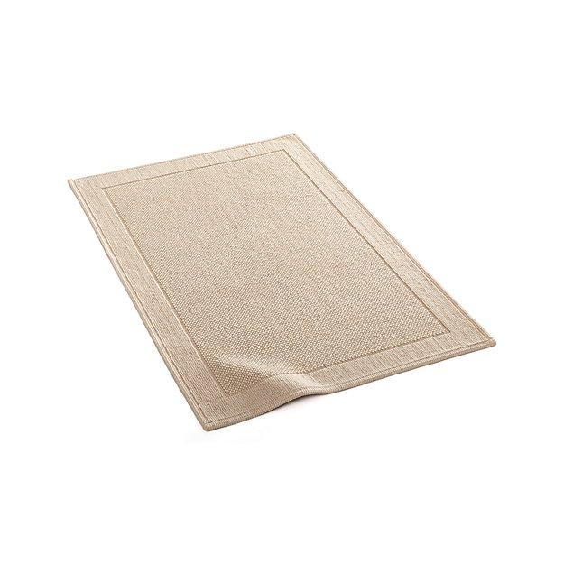 Crate And Barrel Bath Rugs: Westport Sand Bath Rug