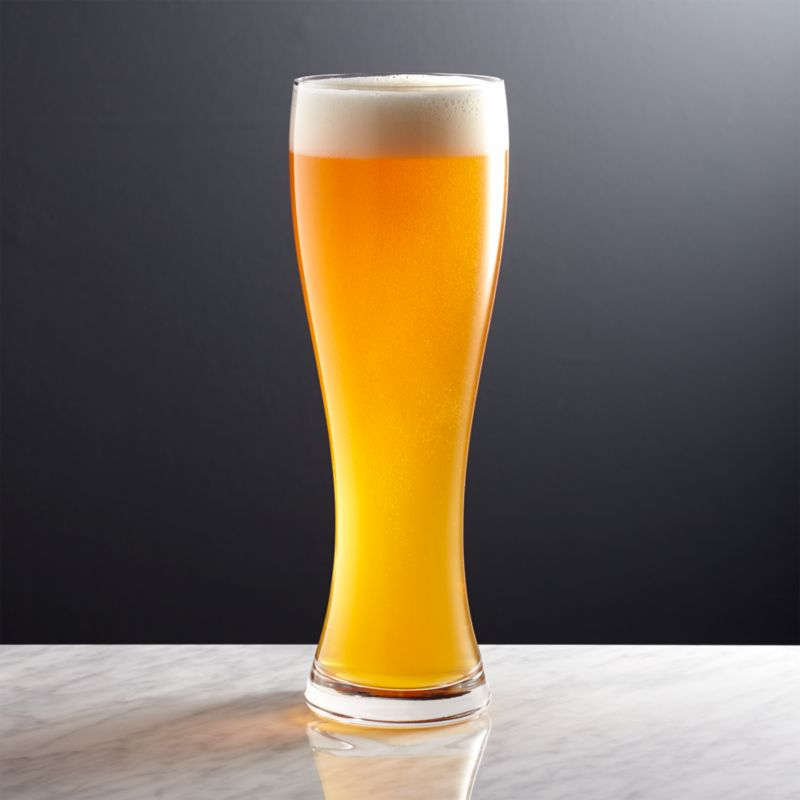 Wheat Beer Glass | Crate and Barrel