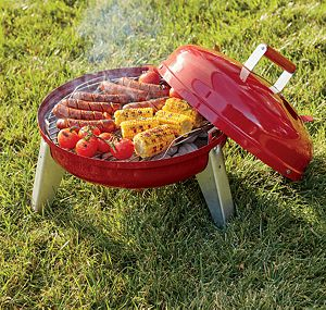 Wherever Dual Fuel Grill