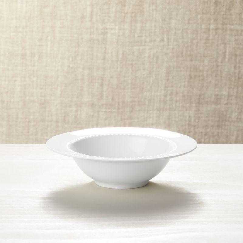 White Pearl Bowl