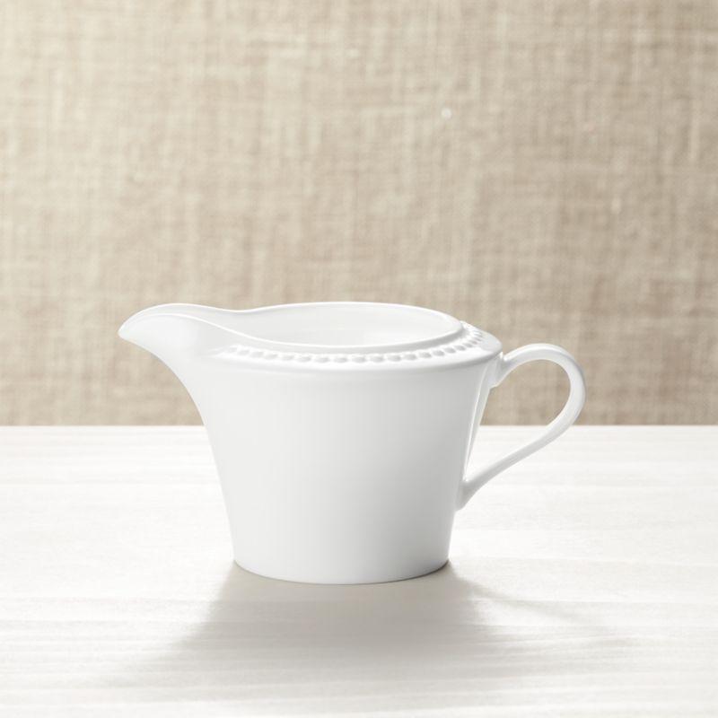White Pearl Creamer