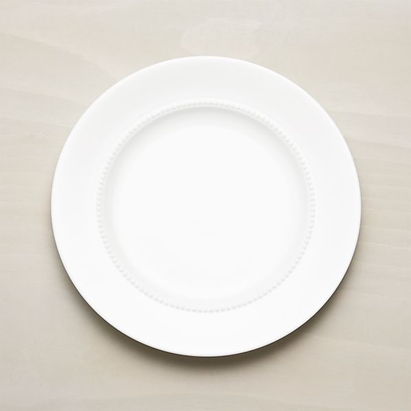 White Pearl Dinner Plate