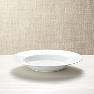 White Pearl Low Bowl