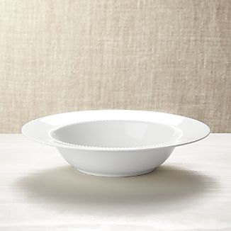 White Pearl Serving Bowl