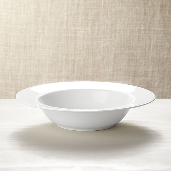 WhitePearlServeBowlSHF15