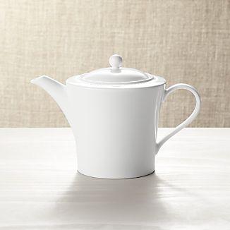 White Pearl Teapot