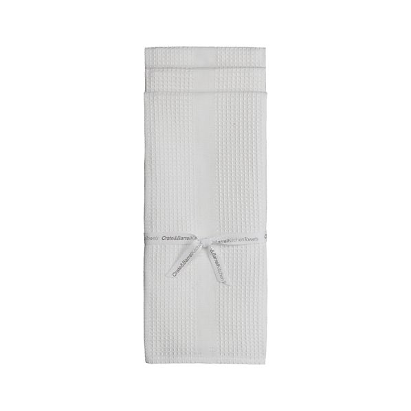 Set of 3 Waffleweave Dish Towels