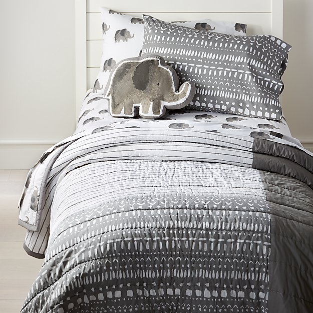 Wild Excursion Elephant Bedding Crate And Barrel