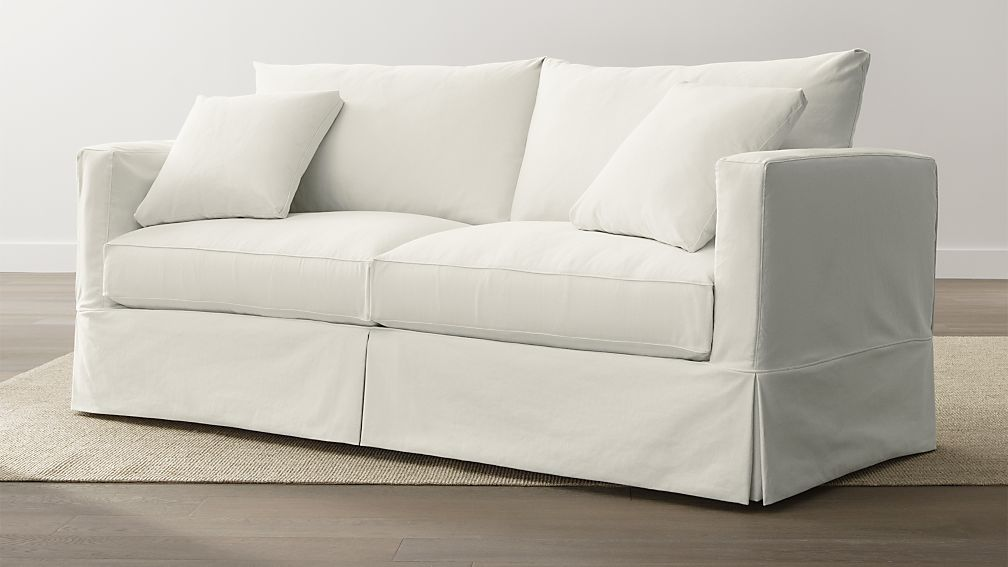 Slipcover Only for Willow Queen Sleeper Sofa Deso Snow ...