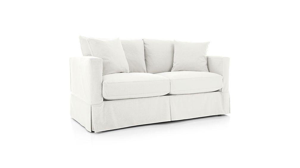 Slipcover Only For Willow Full Sleeper Sofa Deso Snow