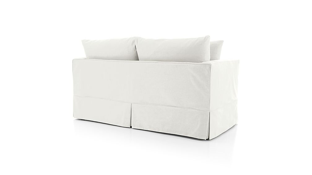 Willow Full Sleeper Sofa With Air Mattress Deso: Snow