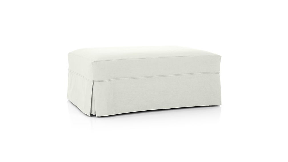 Slipcover Only for Willow Storage Ottoman