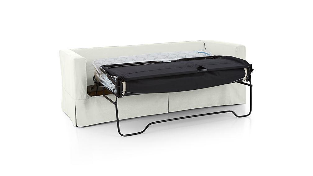Willow Queen Sleeper Sofa with Air Mattress Deso Snow