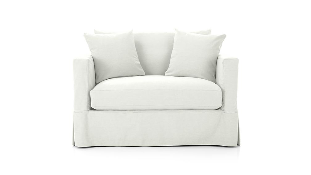 Willow single sofa bed crate and barrel for Sectional sofa bed crate and barrel