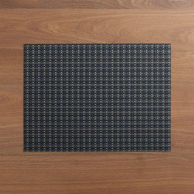Chilewich ® Windowpane Blue Vinyl Placemat