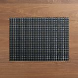 Chilewich ® Windowpane Blue Vinyl Placemat