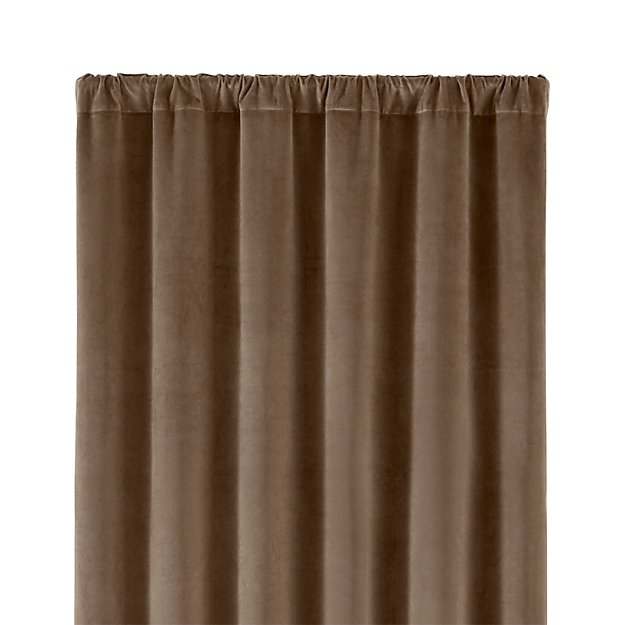 "Windsor Brindle 48""x108"" Curtain Panel"