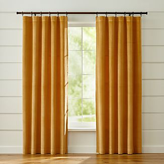 Windsor Gold Curtains