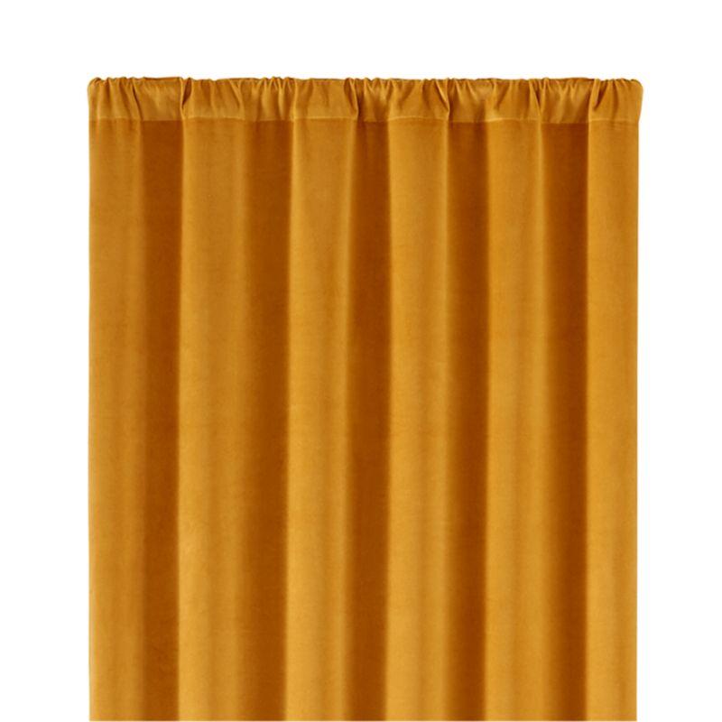 "Windsor Gold 48""x108"" Curtain Panel"