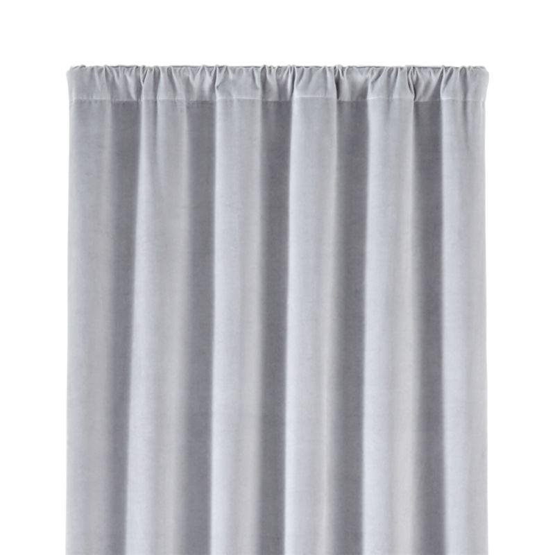 "Windsor 48""x84"" Light Grey Curtain Panel"