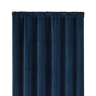 "Windsor Midnight 48""x96"" Curtain Panel"