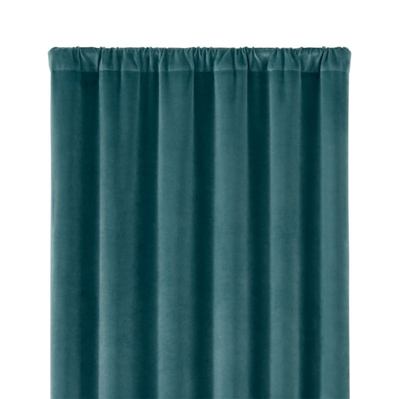 """Windsor Sterling Blue 48""""x108"""" Curtain Panel"""