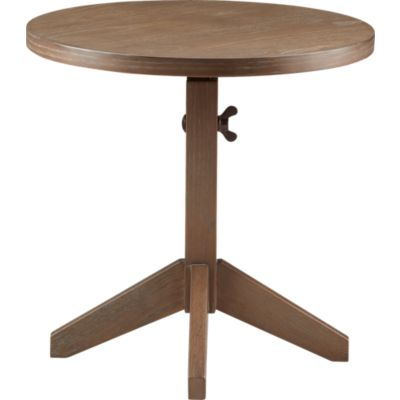 Wingnut Accent Table