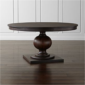 """Winnetka 60"""" Round Extendable Dining Table"""