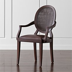 Winnetka Wood Dining Arm Chair