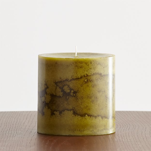 "Winter Pear 4""x4""Scented Candle"