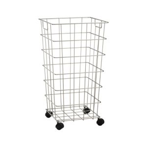 Wire Hamper With Wheels Crate And Barrel