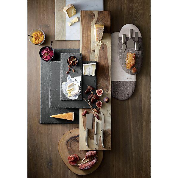 Wood-MarbleSquarePlatterNC16