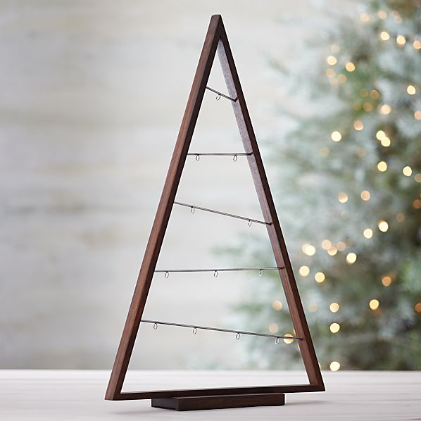 Large A Frame Ornament Tree