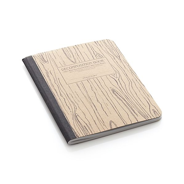 Wood Grain Notebook
