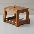 Wooden Step Stool.