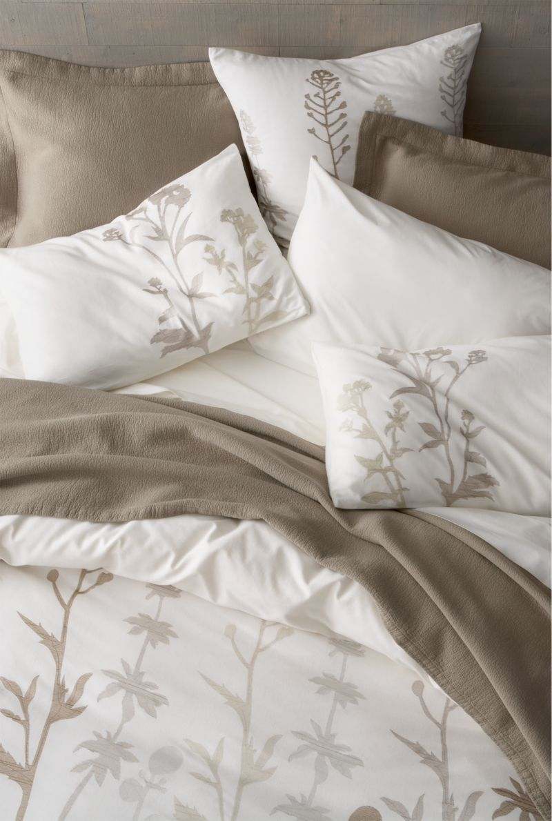 Woodland Natural Duvet Covers and Pillow Shams