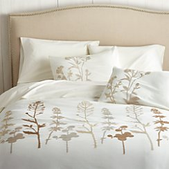 Woodland Natural Full/Queen Duvet Cover