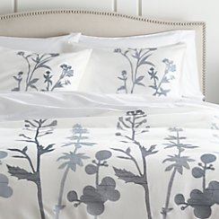 Woodland Blue Full/Queen Duvet Cover